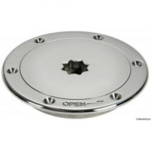 "TAPA REGISTRO INOX 3"" 120mm"